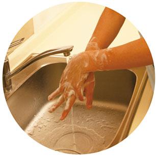 消毒・手洗いを徹底
